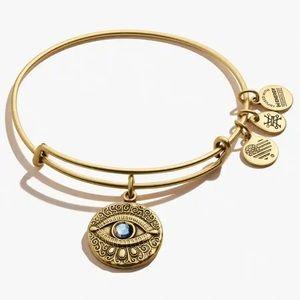 Alex And Anni Evil Eye Bangle Charm Bracelet
